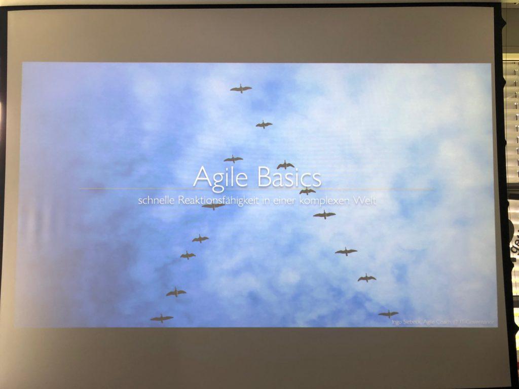 Agile Basics Seminar bei HSE24