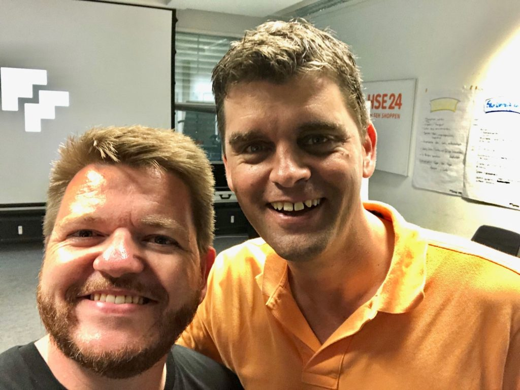 Ingo Siebeck und Florian Mück